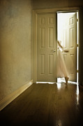 Wood Floors Prints - Entrance Print by Margie Hurwich