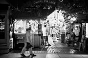 Outdoor Market Posters - Entrance To Duval Village Open Air Outdoor Market In Key West Florida Usa Poster by Joe Fox