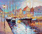 Dmitry Spiros - Evening reflection