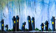 Fantasy Art - Night Lights Print by Nirdesha Munasinghe