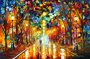 Farewell To Anger Print by Leonid Afremov