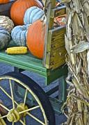 Farmers Market Print by Frozen in Time Fine Art Photography