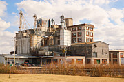 Feed Mill Metal Prints - Feed Mill Metal Print by Charles Beeler