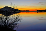 Lake Prints - Feel the peace Print by Guido Montanes Castillo