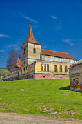 Romania Photos - Felmer church by Gabriela Insuratelu