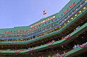 Ballpark Photo Posters - Fenways 100th Poster by Joann Vitali