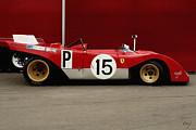 Curt Johnson - Ferrari 312 1971 Profile