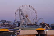 All - Ferris Wheel at Dusk by Kathy Dahmen