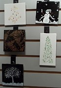 Snow Ceramics - Festive Decorative Tiles by Joyce Kerr