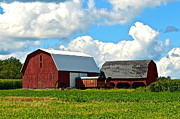 Finger Lakes Prints - Finger Lakes Farm Print by Robert Harmon