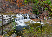 Rushing Prints - Finger Lakes Waterfall Print by Robert Harmon