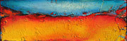 Annmarie Vierick Prints - Fire and Ice Print by Annmarie Vierick