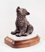 Pup Sculptures - First Solo by Lori Salisbury