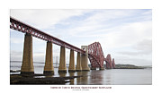 Architecture Digital Art Originals - Firth of Forth Bridge by Dale Mitchell