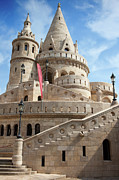 Bastion Prints - Fisherman Bastion in Budapest Print by Artur Bogacki