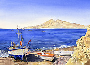 Margaret Merry - Fishing boats at La...