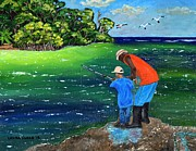 Laura Forde - Fishing Buddies
