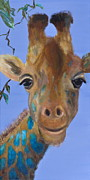 Giraffes Paintings - Fitzpatrick by Lynn Rattray