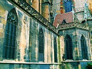 Rhin Prints - Five Window Arches Print by Maria Huntley