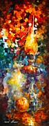 Flame Print by Leonid Afremov
