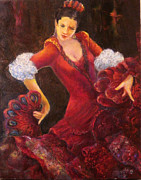 Sylva Zalmanson - Flamenco dancer with a...