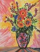 Connie Valasco - Flowers in a vase