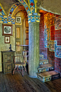 Byzantine Photo Metal Prints - Fonthill Castle  Metal Print by Susan Candelario