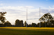 Rugby Union Photo Posters - Football Goals Poster by Tim Hester