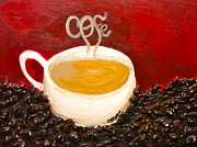 For The Coffee Lover Print by Melissa Torres