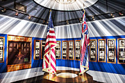 Flag Of Usa Photo Prints - For Valor Print by Douglas Barnard