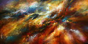 Blending Painting Posters - Force of Nature Poster by Michael Lang