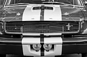 Ford Muscle Car Framed Prints - Ford Mustang Grille Emblem Framed Print by Jill Reger