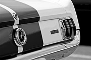 Ford Mustang Framed Prints - Ford Mustang GT 350 Taillight Framed Print by Jill Reger