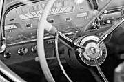 Steering Framed Prints - Ford Steering Wheel Framed Print by Jill Reger