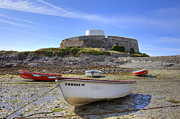 Fort Metal Prints - Fort Grey - Guernsey Metal Print by Joana Kruse