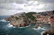 Red Roofs Framed Prints - Fort Lovrijenac - Dubrovnik - Croatia Framed Print by Madeline Ellis