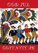 Leif Sodergren - Four Men Dancing