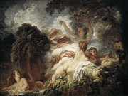 Fragonard Prints - Fragonard, Jean Honoré 1732-1806. The Print by Everett