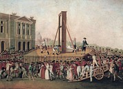 French Revolution Prints - French Revolution 1793. Execution Print by Everett
