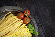 Italian Kitchen Posters - Fresh pasta Poster by Mythja  Photography