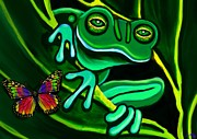 Nick Gustafson - Frog and Butterfly