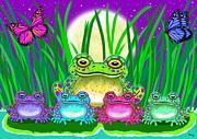 Nick Gustafson - Frog Family