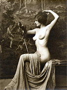 Nudes Posters - From Risque Postcard Collection  6 Poster by Studio Photographer