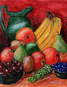 Melvin Turner - Fruit and Pitcher