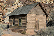 Frutia Schoolhouse Capitol Reef National Park Utah Print by Jason O Watson