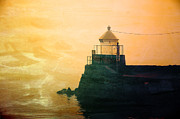 Fyllinga Lighthouse Print by Randi Grace Nilsberg