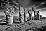 Scotland Landscape Prints Framed Prints - Fyrish monument Framed Print by Grant Glendinning