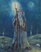 Joe  Gilronan - Gandalf A Starry Night