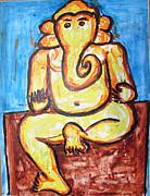 Ganesha-a4 Print by Anand Swaroop Manchiraju