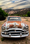 Nm Prints - Gasoline alley Print by Elena Nosyreva